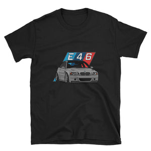 Grey E46 Unisex T-Shirt Grey E46 Unisex T-Shirt - Automotive Army Automotive Army