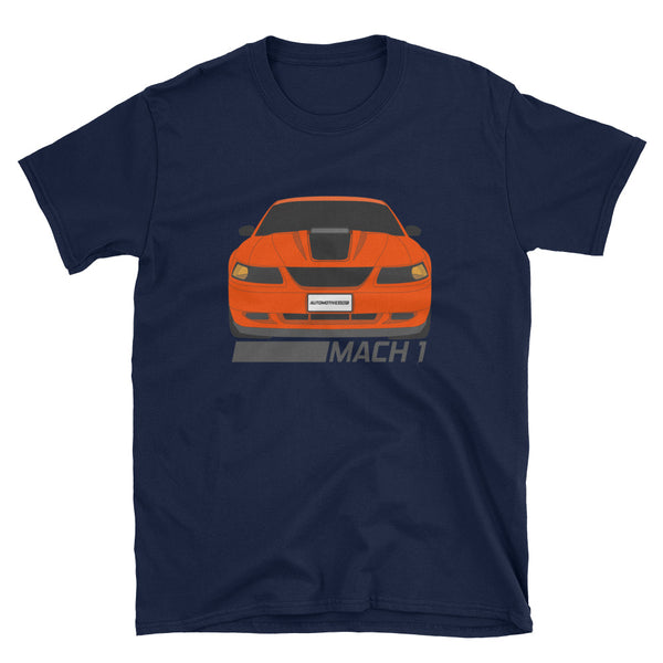 Competition Orange Mach 1 Unisex T-Shirt Competition Orange Mach 1 Unisex T-Shirt - Automotive Army Automotive Army