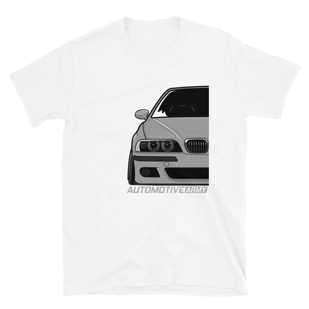 Grey Slammed E39 Unisex T-Shirt Grey Slammed E39 Unisex T-Shirt - Automotive Army Automotive Army
