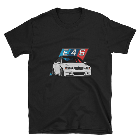White E46 Unisex T-Shirt White E46 Unisex T-Shirt - Automotive Army Automotive Army