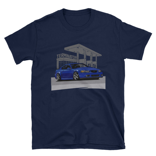 At the Station Terminator Unisex T-Shirt At the Station Terminator Unisex T-Shirt - Automotive Army Automotive Army