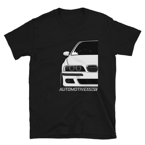 White Slammed E39 Unisex T-Shirt White Slammed E39 Unisex T-Shirt - Automotive Army Automotive Army
