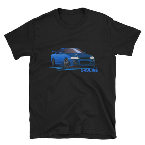 Brian's GTR Unisex T-Shirt Brian's GTR Unisex T-Shirt - Automotive Army Automotive Army