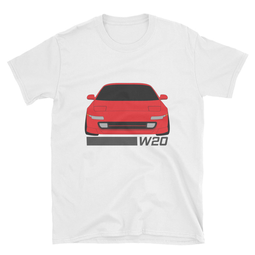 MR2 (W20) Super/Crimson Red Unisex T-Shirt MR2 (W20) Super/Crimson Red Unisex T-Shirt - Automotive Army Automotive Army