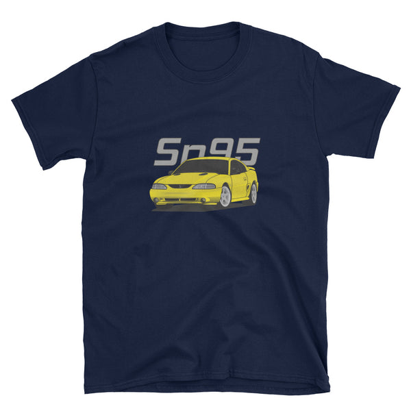 Yellow SN95 Cobra Unisex T-Shirt