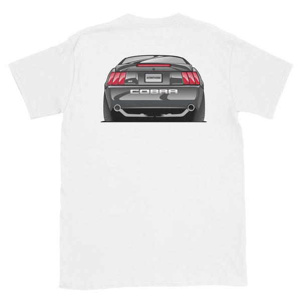 Black Cobra Rear Unisex T-Shirt
