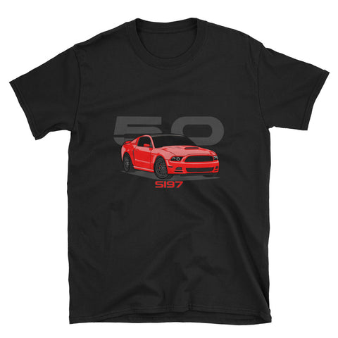 Torch/Race Red S197 Unisex T-Shirt Torch/Race Red S197 Unisex T-Shirt - Automotive Army Automotive Army