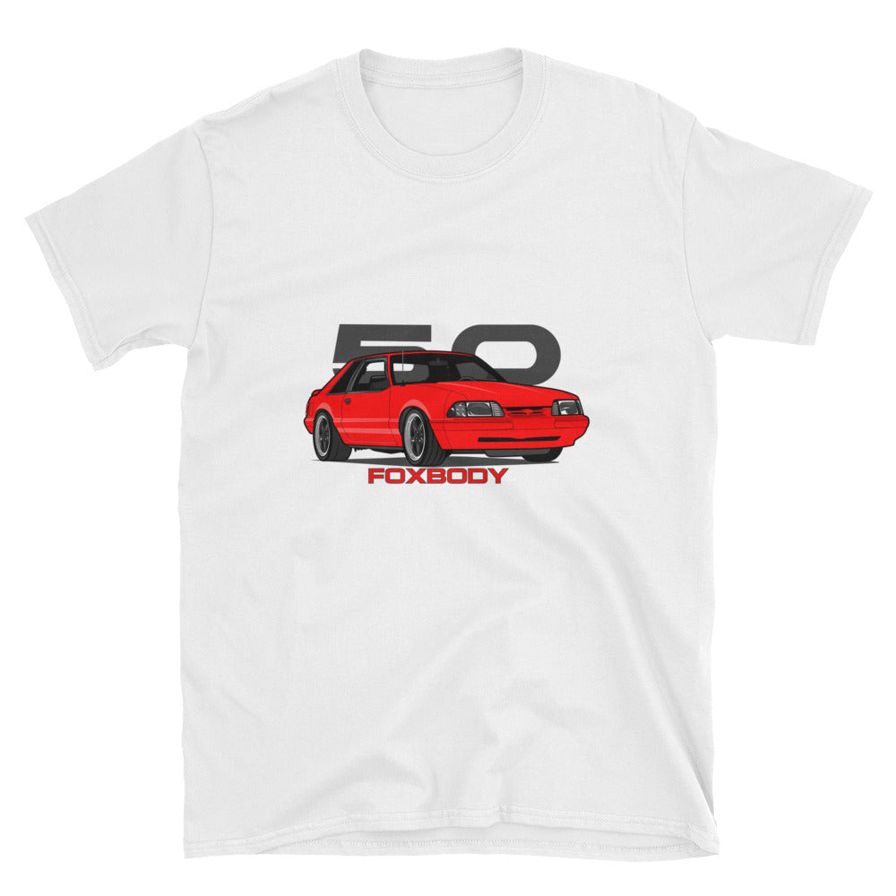 Red Hatchback Unisex T-Shirt