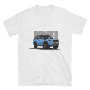 Cavalry Blue 5th Gen Runner Unisex T-Shirt Cavalry Blue 5th Gen Runner Unisex T-Shirt - Automotive Army Automotive Army