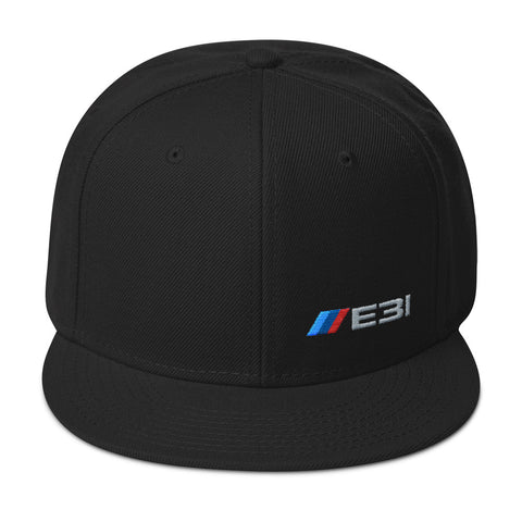 E31 Snapback Hat E31 Snapback Hat - Automotive Army Automotive Army