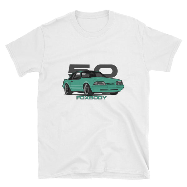 Reef Blue Notchback Unisex T-Shirt