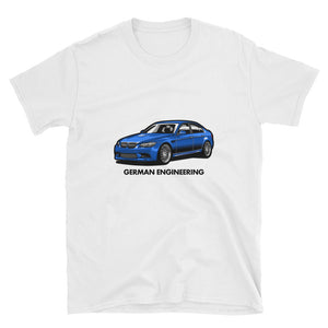 German Engineering Unisex Tee German Engineering Unisex Tee - Automotive Army Automotive Army