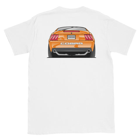 Competition Orange Cobra Rear Unisex T-Shirt