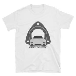 Silver FD Rotary Powered Unisex T-Shirt