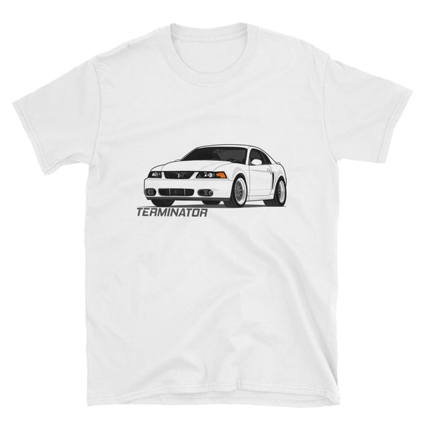 Oxford White Terminator Unisex T-Shirt