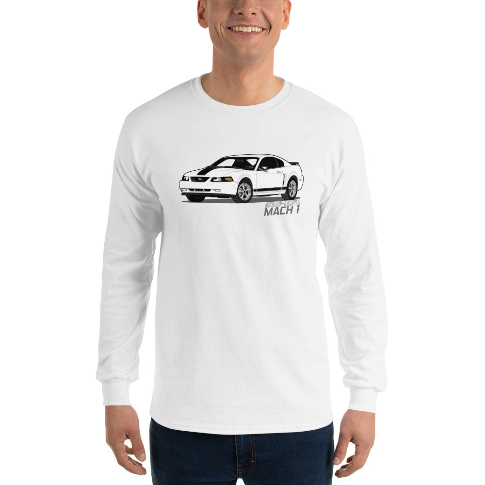 Oxford White Mach 1 Long Sleeve Oxford White Mach 1 Long Sleeve - Automotive Army Automotive Army