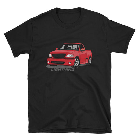Red Lightning Unisex T-Shirt