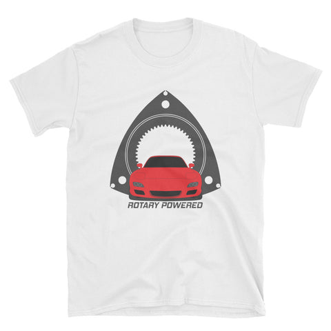 Red FD Rotary Powered Unisex T-Shirt