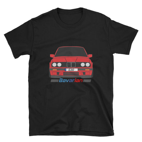 E30 Bavarian Red Unisex T-Shirt