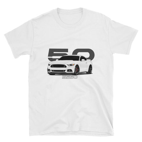 White S550 Unisex T-Shirt White S550 Unisex T-Shirt - Automotive Army Automotive Army