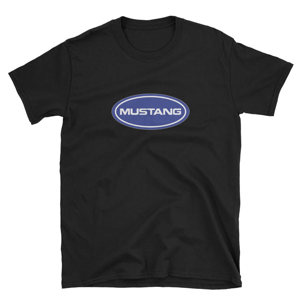Mustang Blue Oval Unisex T-Shirt Mustang Blue Oval Unisex T-Shirt - Automotive Army Mustang Vibes