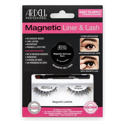 False Eyelashes Magnetic Demi Ardell
