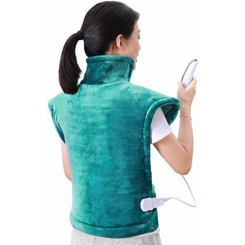 Heated Pad for Neck and Shoulders Green (60 x 90 cm) (Refurbished A+)