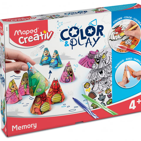 Craft Game 907000 Color&Play (ES-PT-EN-FR) (Refurbished A+)