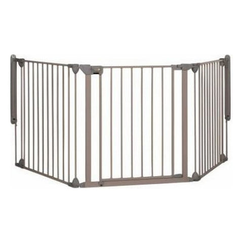 Safety barrier Safety 1st Modular 3 Metal Grey (40-214 cm) (Refurbished A+)