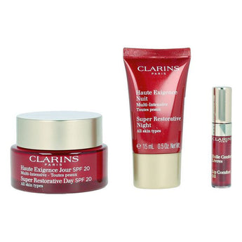 Women's Cosmetics Set Multi Intensive Jour Clarins Spf 20 (3 pcs)