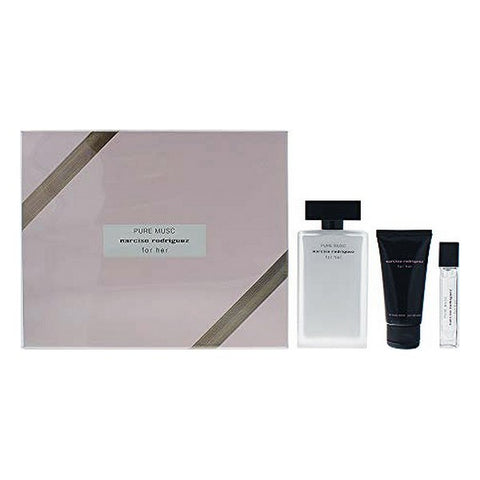 Women's Perfume Set Pure Musc Narciso Rodriguez EDP (3 pcs)