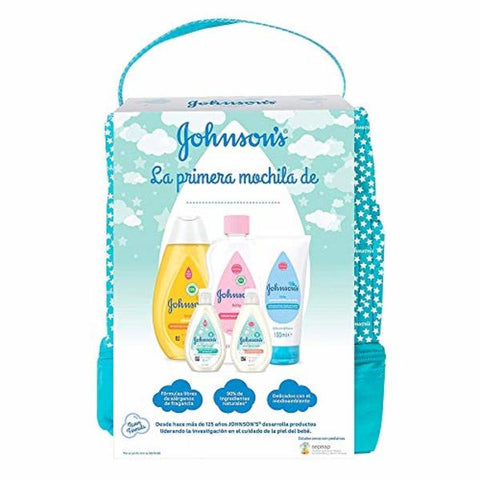 Child's Toiletries Travel Set Johnson's Baby (6 pcs)