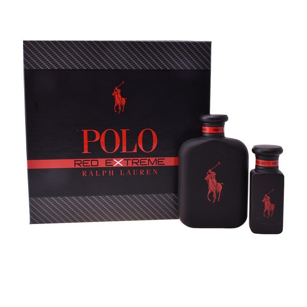 Men's Perfume Set Polo Red Extreme Ralph Lauren (2 pcs)