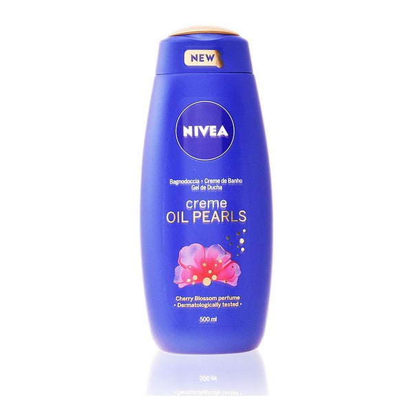 Shower Gel Oil Pearls Flor De Cerezo Nivea (500 ml)