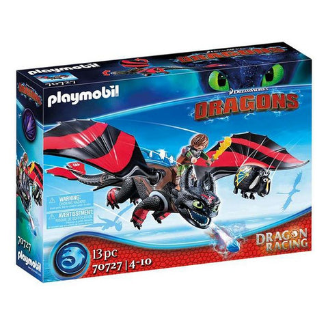 Modelling Clay Game Playmobil How to Train Your Dragon (13 pcs)