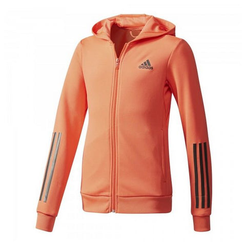 Children's Jacket Adidas YG TR FZ HD CE6141 Orange