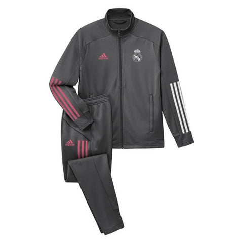 Children's Tracksuit Real Madrid Adidas TK SUIT Y Grey
