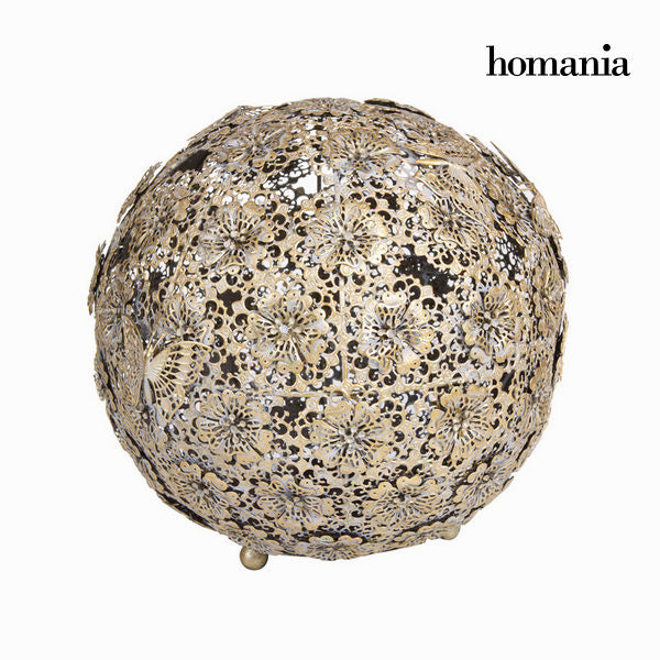Gold flower and butterfly ball - Art & Metal Collection by Homania
