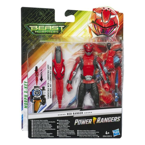 Power Rangers Beast Morphers Red Ranger Hasbro (15 cm)