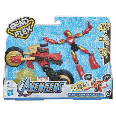 Figure The Avengers Iron Man Motorcycle