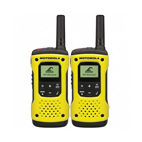 Walkie-Talkie Motorola T92H2O (2 Pcs) Yellow Black
