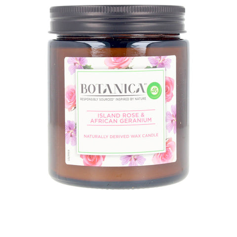 Scented Candle Botanica Rose & African Geranium Air Wick (205 g)