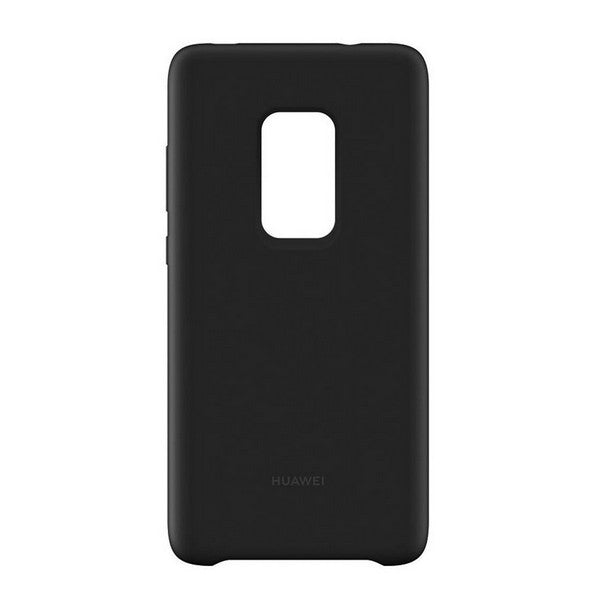 Mobile cover Huawei Mate 20 Silicone Black