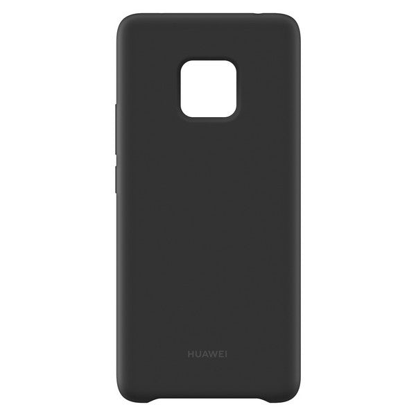 Mobile cover Huawei Mate 20 Pro Silicone Black