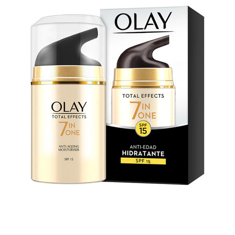 Anti-Ageing Hydrating Cream Total Effects Sfp 15 Olay (50 ml)