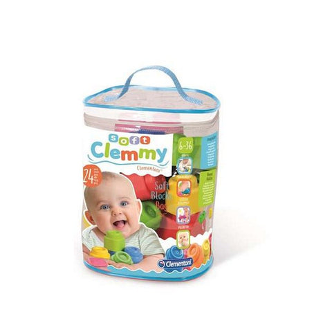 Building Blocks Game Baby Clemmy Clementoni (24 pcs) (13 x 20,5 x 26,5 cm)