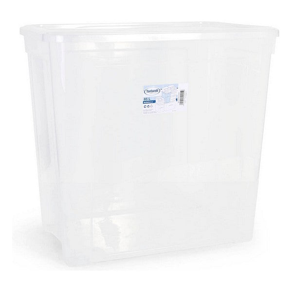 Storage Box with Lid Combi Tontarelli 85 L (58,2 x 38 x 54,6 cm)