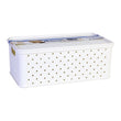 Storage Box with Lid Tontarelli 4 L Plastic