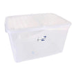 Storage Box with Lid Tontarelli Plastic Transparent