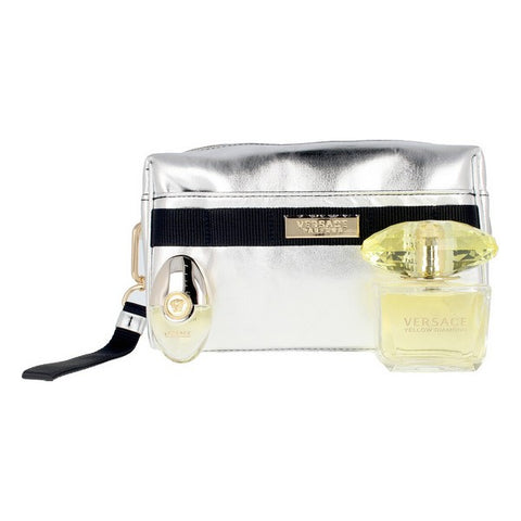 Women's Perfume Set Yellow Diamond Versace EDT (3 pcs)